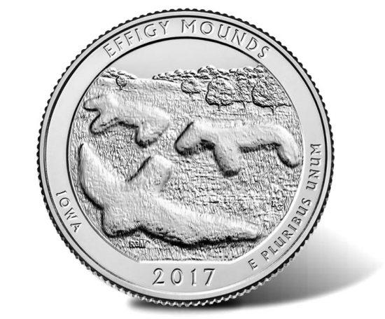 Effigy Mounds quarter