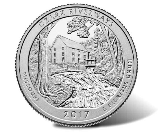 Ozark National Scenic Riverways quarter