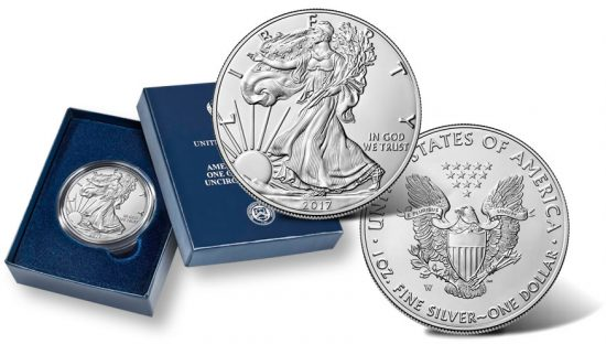 2017-W Uncirculated American Silver Eagle