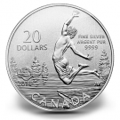 2014 $20 Summertime Commemorative Silver Coin at Face Value