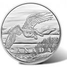 2014 $50 Snowy Owl Silver Coins at Face Value