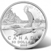 2015 $50 Beaver Silver Coins at Face Value