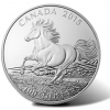 2015 $100 Canadian Horse Silver Coins at Face Value