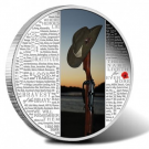 2015 Lest We Forget Coin for WWI Fallen Soldiers