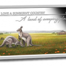 2015 Sunburnt Country Silver Rectangle Coins in Set