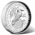2015 Australian Kookaburra Silver Coin in High Relief