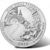 2015-P Blue Ridge Parkway5 Ounce Silver Coin for Collectors