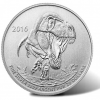 2016 $20 T-Rex Silver Coin Sold at Face Value