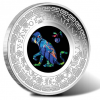 2016 Australian Opal Lunar Monkey Silver Coin